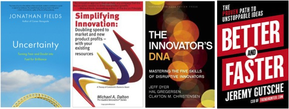 Invitations to review books on innovation